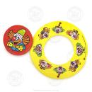 """100 x Frisbee+ Bierdeckel """"Clown"""""""