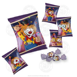 "24 x Bonbontüte 20g ""Zirkus-Clown"""