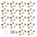 "36 x Geduldspiele ""Sportarten"" (Pinball PP)"