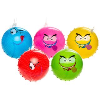 1 x Igelball mit Gesicht ca.15cm in diversen Farben