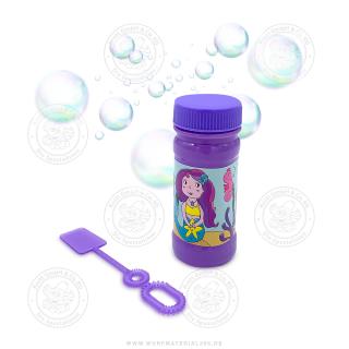 "4 x Seifenblasen ""Meerjungfrau"""