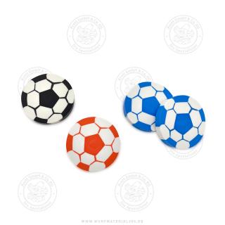 30 x Fußball Radierer einzel Verpackt