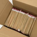 500 x Bleistifte mit Radierer