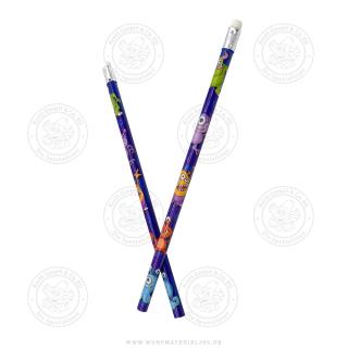 12 x Bleistift Monster
