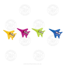"54 x Anspitzer ""Flugzeug"""