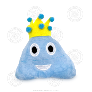 12 x Blauer Haufen mit Krone 13 cm