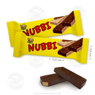 """60 x Waffelschnitte 10g """"Nubbi"""""""