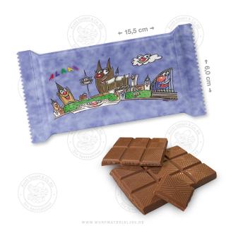 """10 x Schokolade 40g """" Panorama"""""""